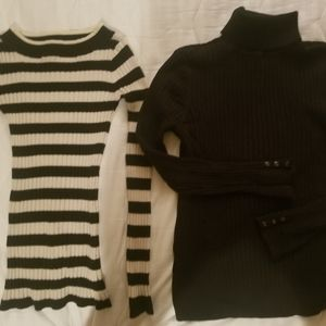 2 for 1! Lightweight sweaters.